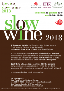 Treviso Slow Wine 2018: i miei preferiti