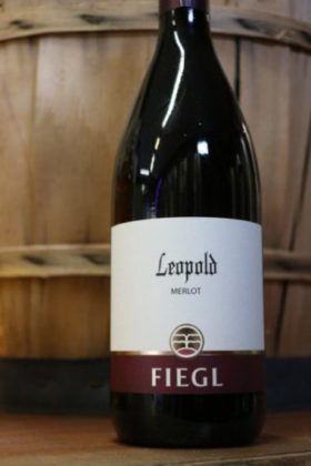 "merlot ""Leopold"" azienda Fiegl Oslavia"