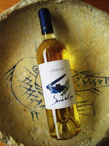 Secca del Capo vino bianco da malvasia dell'azienda Colosi