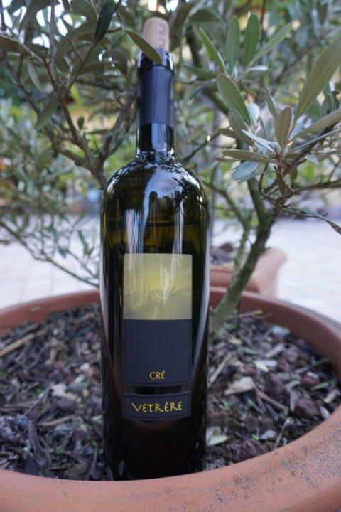 """Salento Bianco IGP """"Crè"""" azienda Vetrère vino Minutolo"""