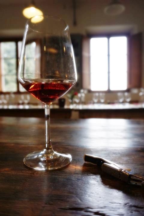 calice di vino, Tenuta di Capezzana