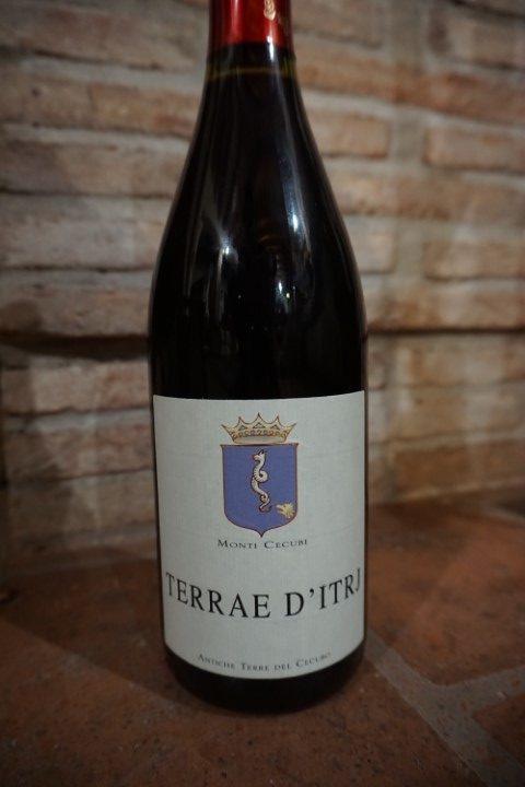 Terrae d'Itrj vino rosso azienda Monti Cecubi