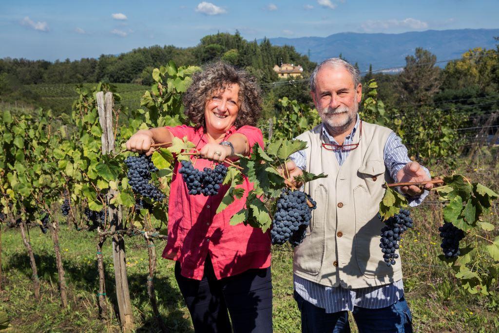 Mariagrazia e Roberto azienda Mannucci Droandi