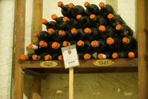 bottiglie storiche Tenuta di Capezzana