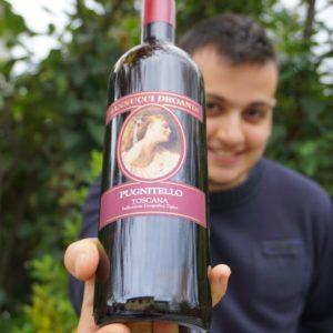 bottiglia vino Pugnitello azienda Mannucci Droandi