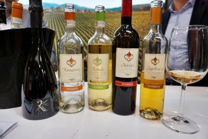 5 vini sardi dell'azienda Tondini assaggiati al Vinitaly 2019