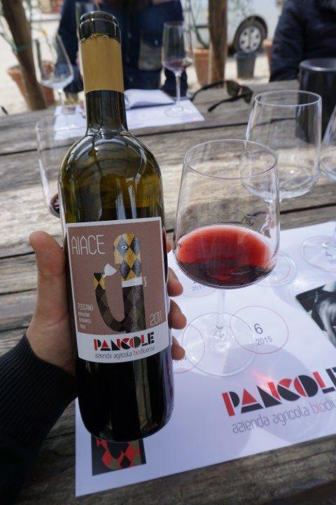 Sangiovese Aiace 2011 azienda Pancole