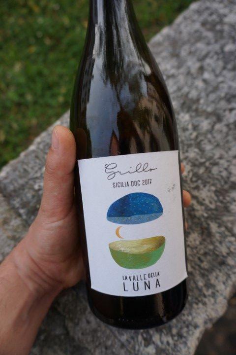 vino bianco Grillo azienda La Valle della Luna (Partanna)