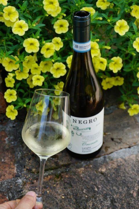 Favorita vino bianco Roero azienda Negro