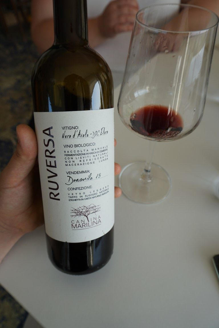 Ruversa vino rosso Cantina Marilina