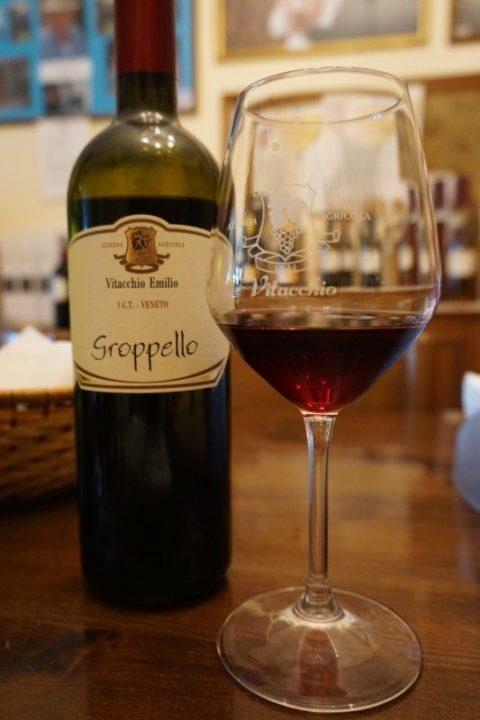 Groppello vino rosso azienda Vitacchio Emilio
