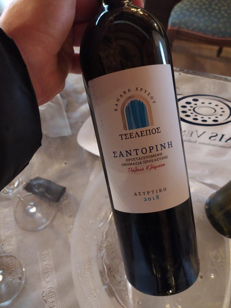 vino bianco Assyrtiko Cantina Chrissou
