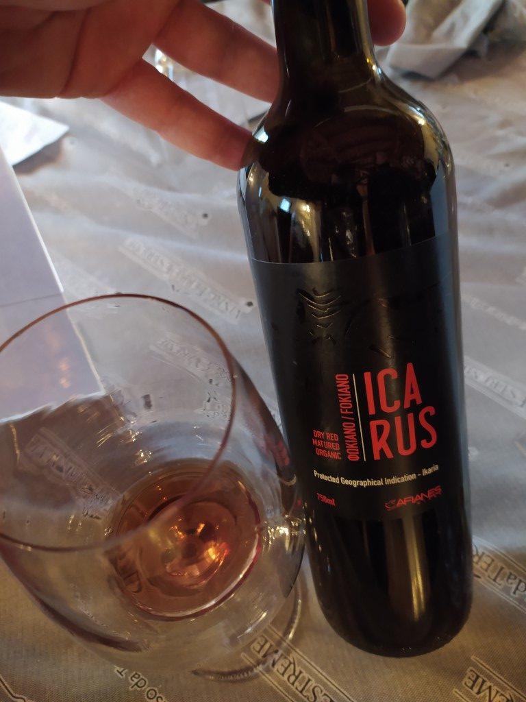 vino rosso Ikarus Cantina Afianes
