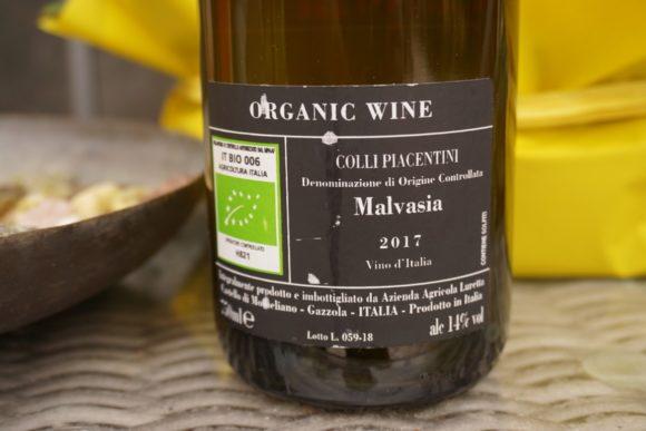Etichetta Malvasia Luretta Bocca di Rosa
