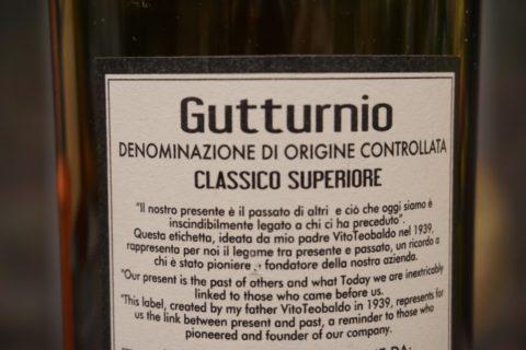 Etichetta Gutturnio Classico Superiore La Ferraia