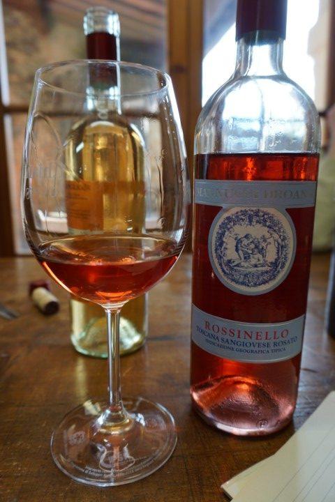 Rossinello Sangiovese rosato Mannucci Droandi