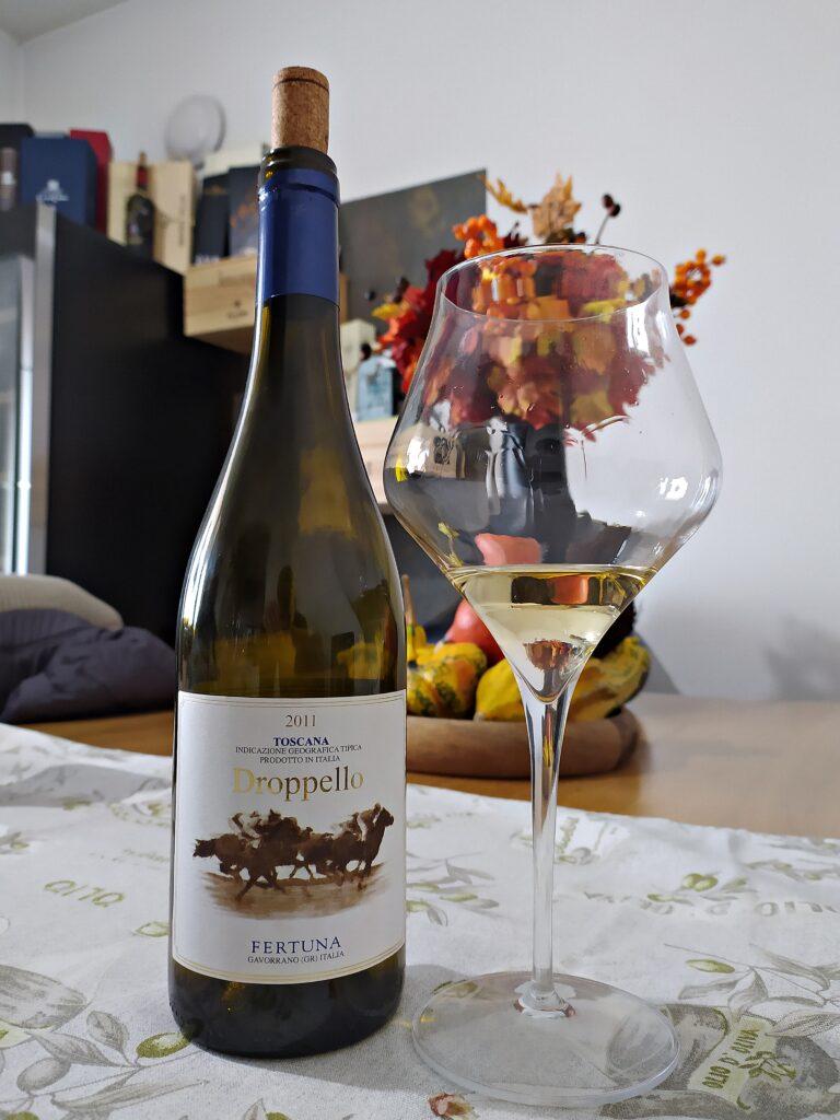 Droppello 2011 vino bianco azienda Tenuta Fertuna